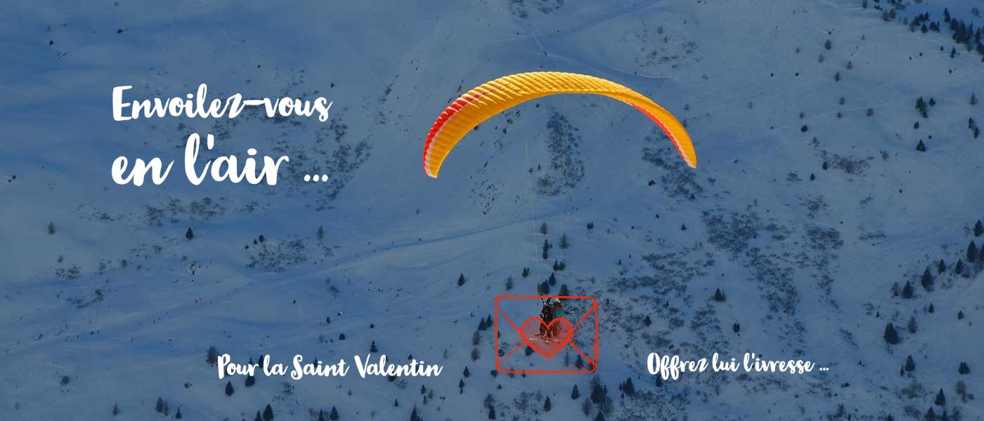Saint Valentin Envergure Parapente