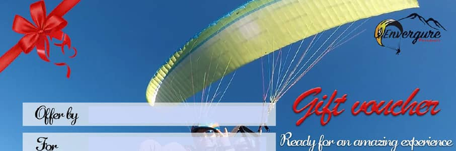 voucher paragliding baptism gift voucher